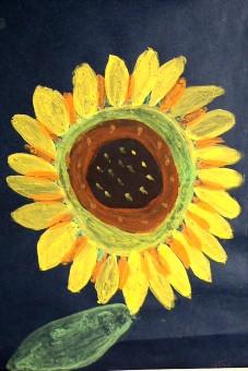 Sonnenblumen Malen Nach Der Natur